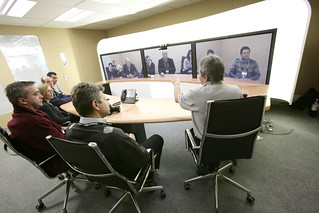 Cisco TelePresence in action