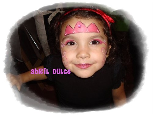 Maquillajes infantiles de Princesa - Imagui