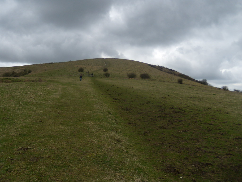 Woolstonbury Hill Hassocks to Upper Beeding