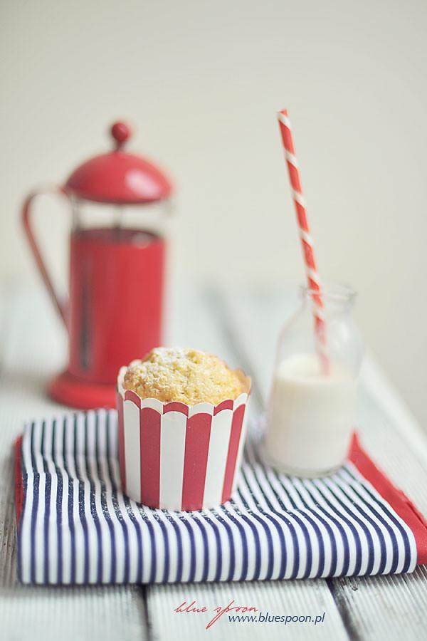 przepis na muffinki cytrynowe blue spoon