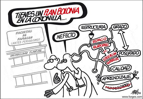 La situación del título de ingeniero de caminos, canales y puertos y el Plan de Bolonia