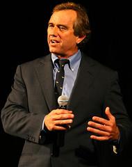 美國廣播主持人兼環境法律師羅伯·甘迺迪(Robert Kennedy Jr)。(來源:Jeffrey Smith)