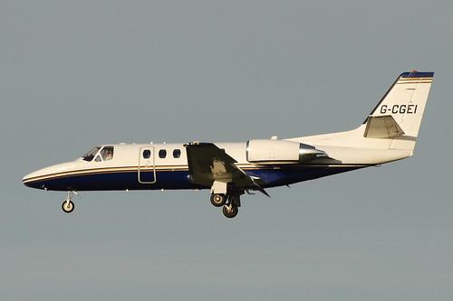 G-CGEI Citation 550