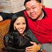 Treyci Bautista and Tito Flores III