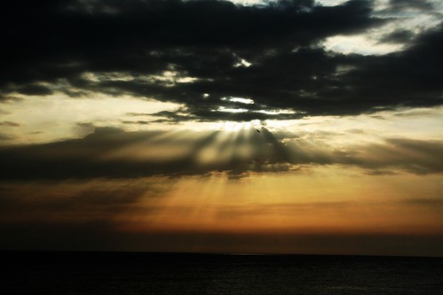 Rays before the dark...,sunset over Gallipoli,(LE),Italy