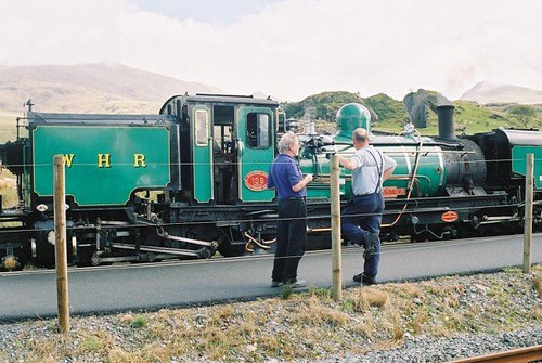 Welsh Highland Railway, Snowdonia by Stocker Images