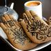 Mehndi inspired spice cookies by SprinkleBakes