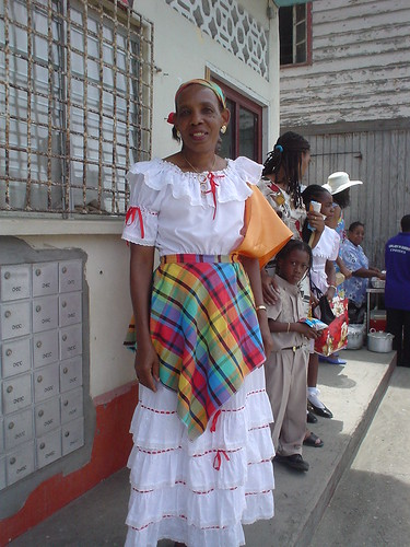 Kweyol Dress, St. Lucia
