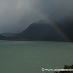 Condor and a Rainbow - Torres del Paine, Chile