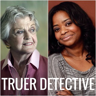 Angela Lansbury and Octavia Spencer with the caption TRUER DETECTIVE