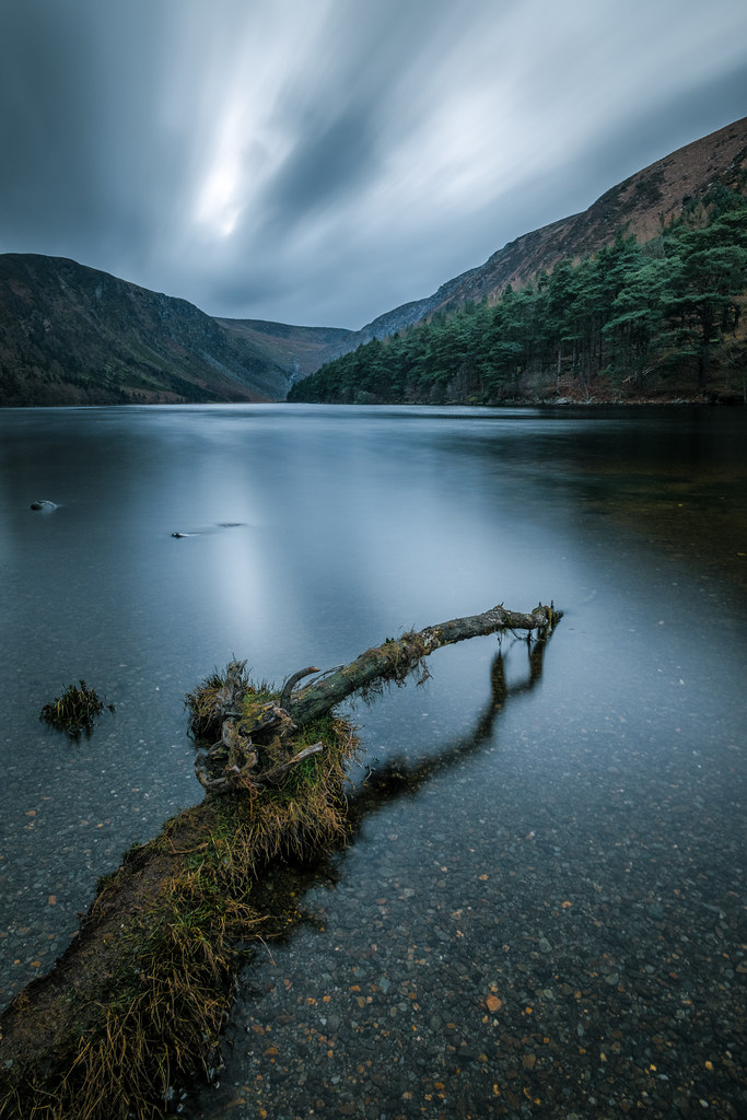 Upper lake in Glendalough - Wicklow, Ireland - Landscape photography