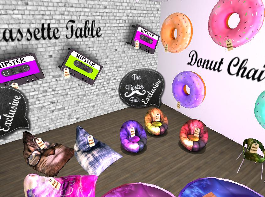 Hipster Fair Items Exclusive 2017 - Sales Gachas And More - SecondLifeHub.com