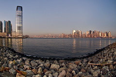 Manhattan from Liberty State Park III