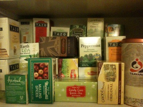 "Maybe our ""tea pantry"" is getting a little bit out of control?"