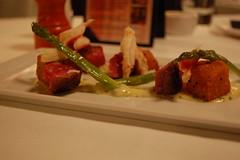 beef, asparagus