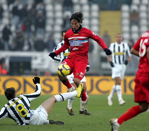 La Juve beffa in extra time un incolpevole Catania, finisce 1-0$