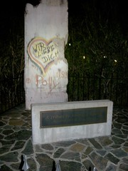 Berlin Wall Section, Mountain View, California, 2010