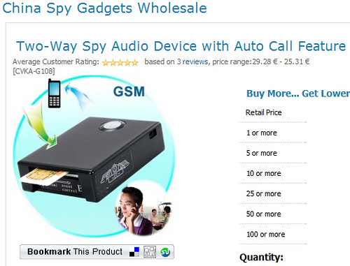 Two-Way Spy Gadget