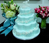 W9028 - winter wedding cake