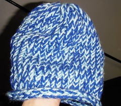 art, pattern, textile, clothing, knitting, thread, beanie, hat, crochet, knit cap, blue, headgear,