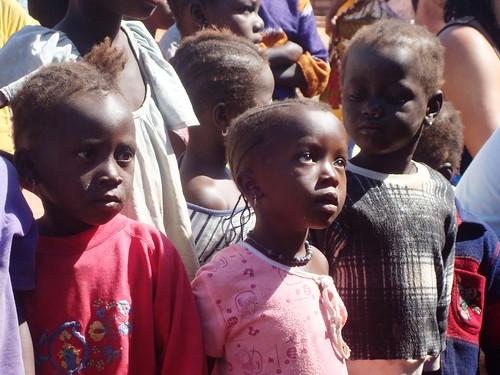 Children listening