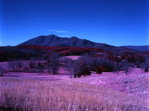 trees mountains rural landscape infrared fields eir