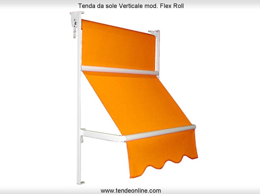 Tende Da Esterno Verticali.Tende Da Sole Verticali Mod Flex Roll Tenda Da Sole A Cad