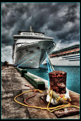cruise carnival ship bahamas nassau hdr carnivalsensation photomatix monarchoftheseas 3exp