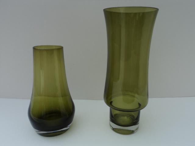 70s Riihimaki Vases attributed to Tamara Aladin