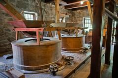 Inside Wayside Inn Grist Mill