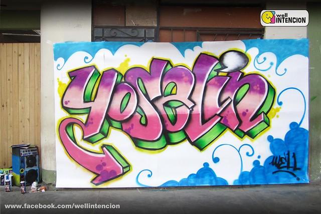 Graffitis Con Nombre Yoselin Amo Todo Para Facebook Imagenes Car .