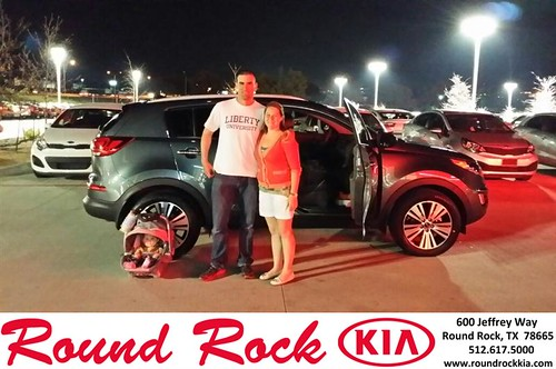 Thank you to Kristen Richards on your new 2014 #Kia #Sportage from Roberto Nieto and everyone at Round Rock Kia! #NewCar by RoundRockKia