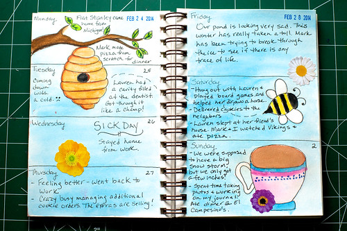 2014 Sketch Journal - Week 9