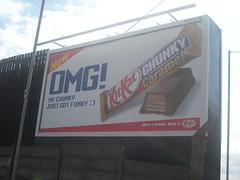 Kit Kat billboard