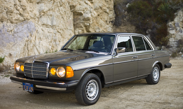 1982 mercedes benz 300d turbo diesel sedan flickr