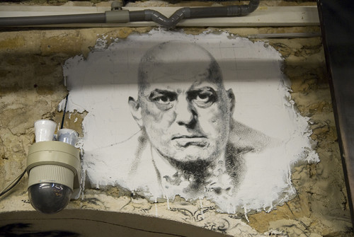 Aleister Crowley painted portrait _DDC7564