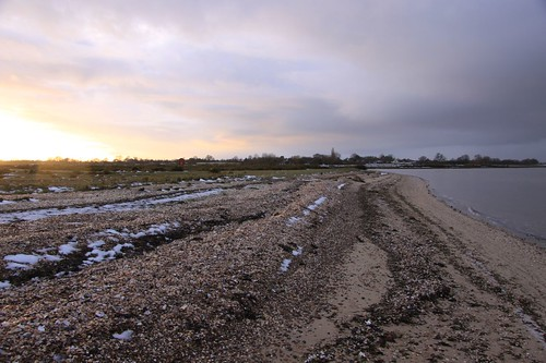 looking landward from Mersea Hard by ultraBobban