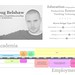 Doug Belshaw's visual resumé by dougbelshaw