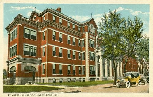 St Joseph 39 S Hospital Lexington Ky C T American Art Publ Flickr Photo Sharing