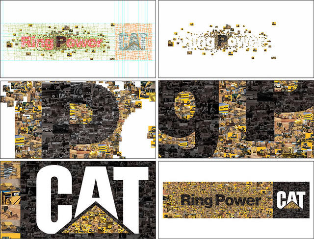 Ring Power CAT Wall Mural Design