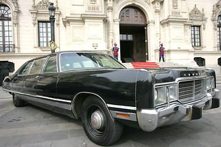 Peruvian presidential limousines 1
