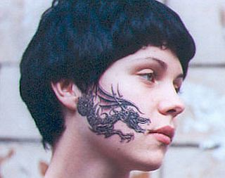 Tattoo Of The Daycharismatic Chinese Dragon Facial Tattoo Flickr