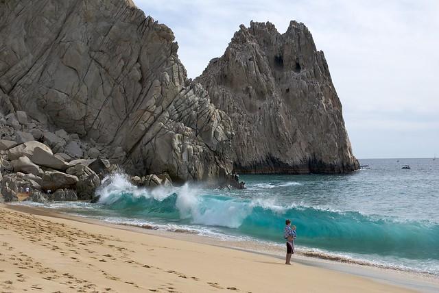 Playa del amor, Cabos San Lucas, México.