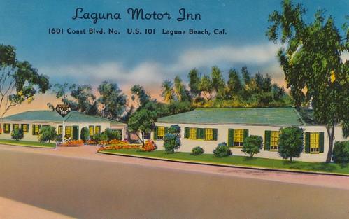 Wish you were hear laguna motor inn laguna beach for Laguna beach motor inn