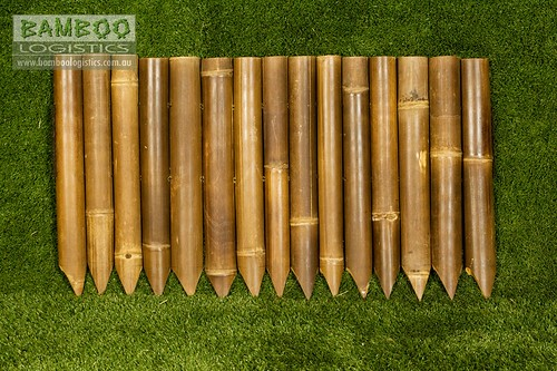 Bamboo Garden Edging Finish Off Your Garden With Some