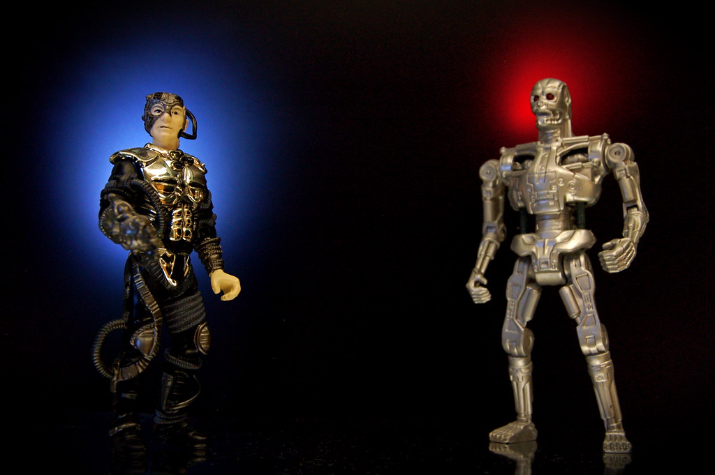 Locutus of Borg vs. The Terminator (78/365)
