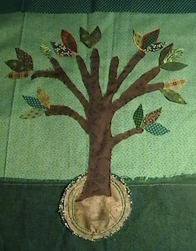 Pictoral Quilt - Barefoot Earth Tales