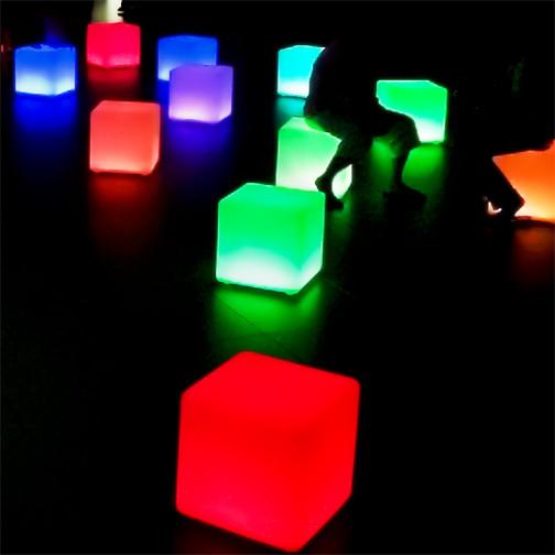 Finding Light: Cube Seats