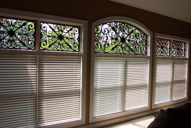 Faux Iron Transom Window Treatment Flickr Photo Sharing