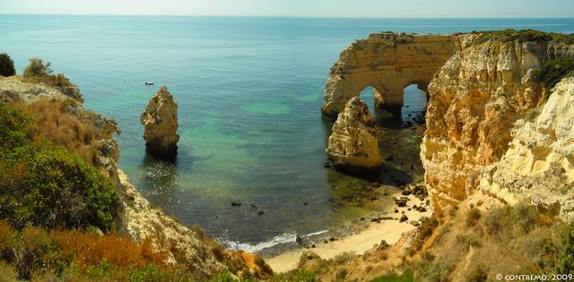 Praia da Marinha (Lagoa, Algarve)